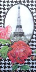 Popierinė nosinaitė Eifelio bokštas