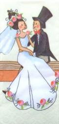 Popierinė nosinaitė Vestuvės