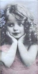 Popierinė nosinaitė Mergaitė
