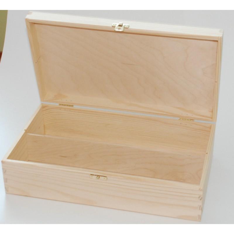 Dėžė vynui (2 buteliams) su užsegimu