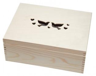Dėžė su balandžiais