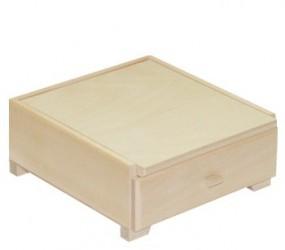 Dėžutė su veidrodžiu (1 stalčius)