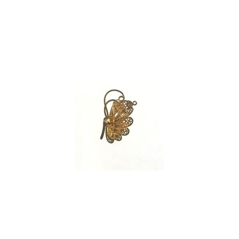 Drugelis (aukso spalva)