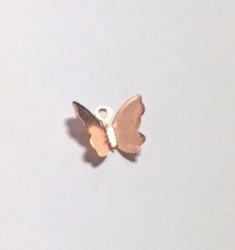 Butterfly Rose gold