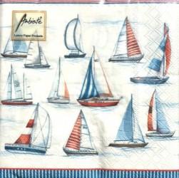 Napkins Sailing
