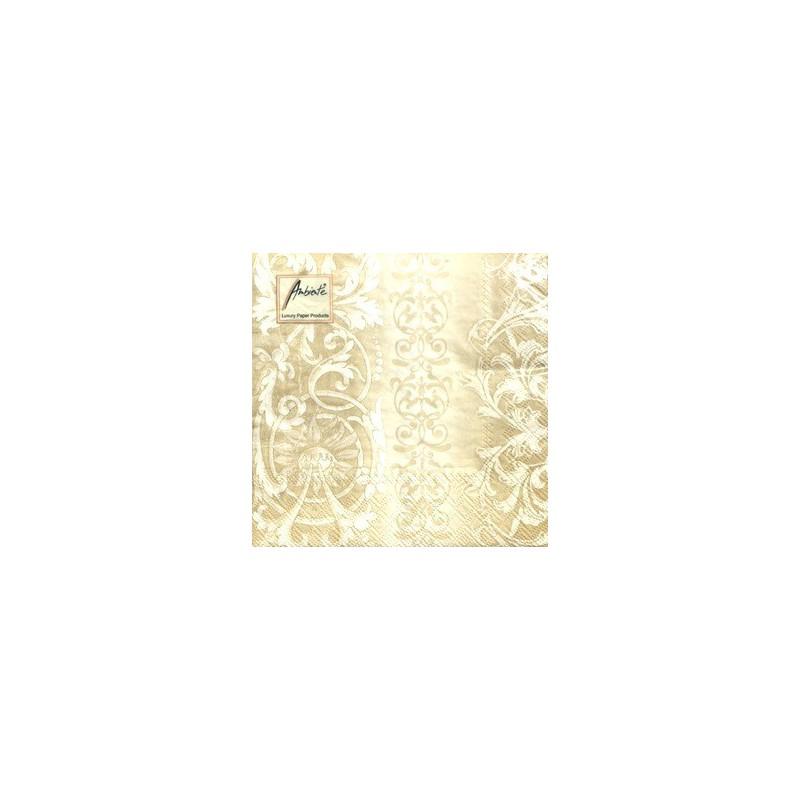 Servetėlių pakelis Ornamentai (auksiniai)