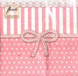 Napkins Bow rose