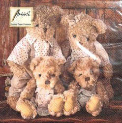 Napkins Family teddybear