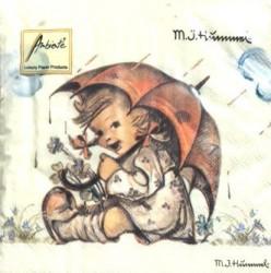 Servetėlių pakelis Mergaitė su skėčiu