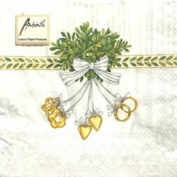 Napkins Wedding symbols