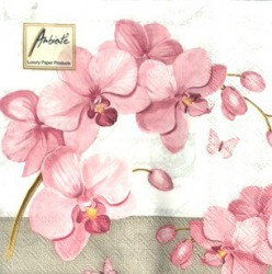 Napkins Orchids with love