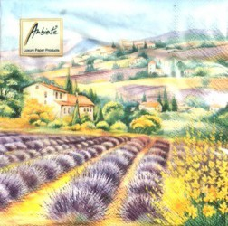 Napkins Lavender fields