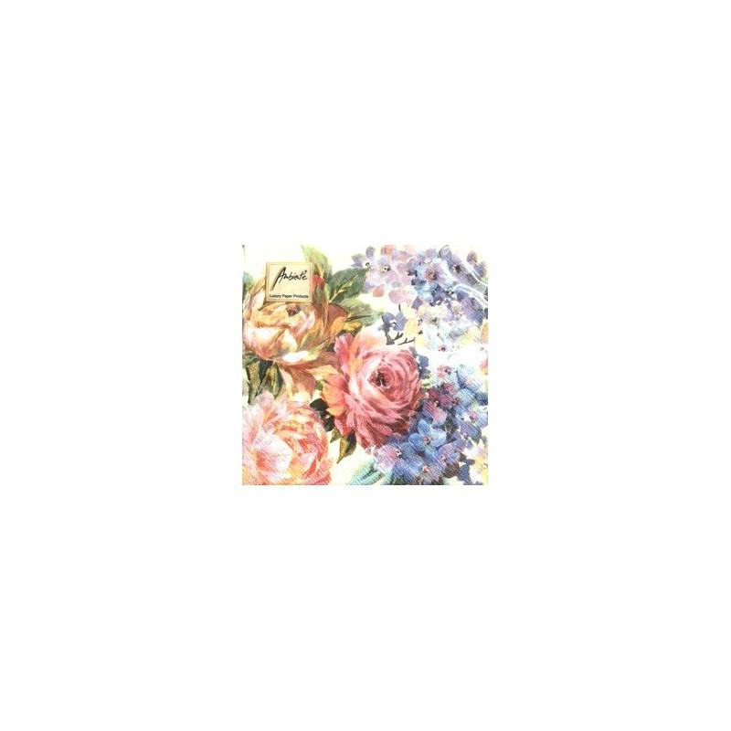 Servetėlių pakelis Gėlės