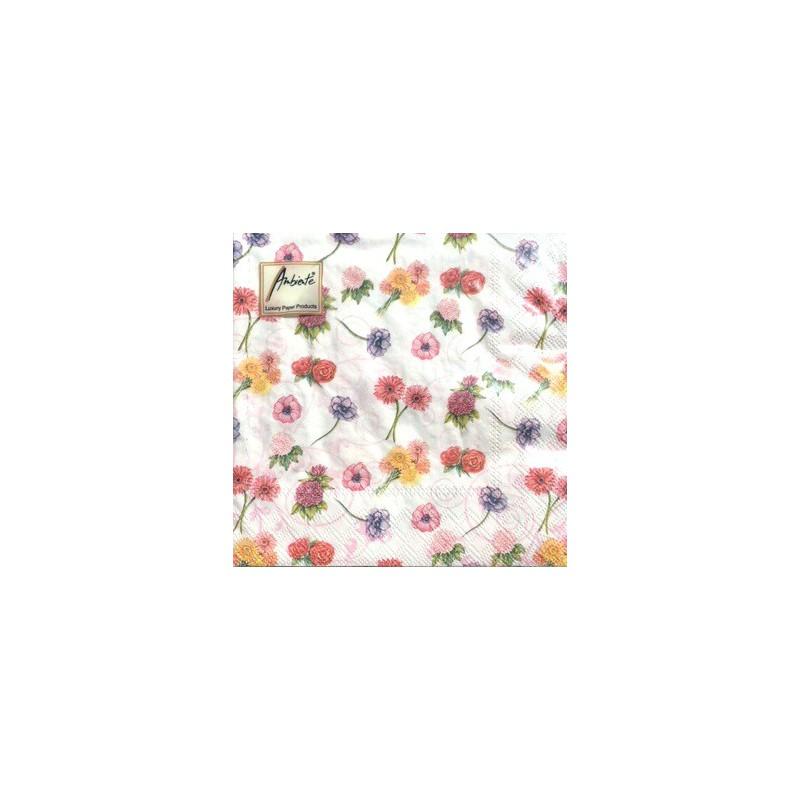 Servetėlių pakelis Smulkios gėlės