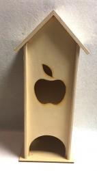 Arbatinė namelis (su obuoliu)