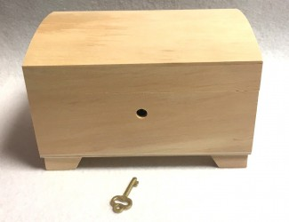 Box with key