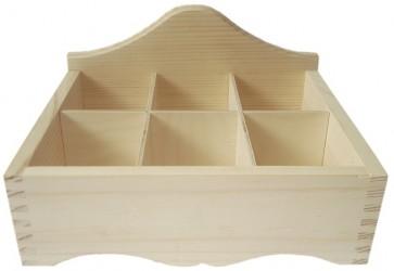 Tea box (6 dividers)
