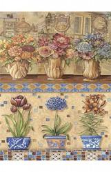 Rice paper Hortensia