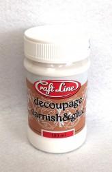 Decoupage varnish and glue 100 ml
