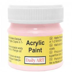 Matiniai akriliniai dažai Rožinė (50 ml)