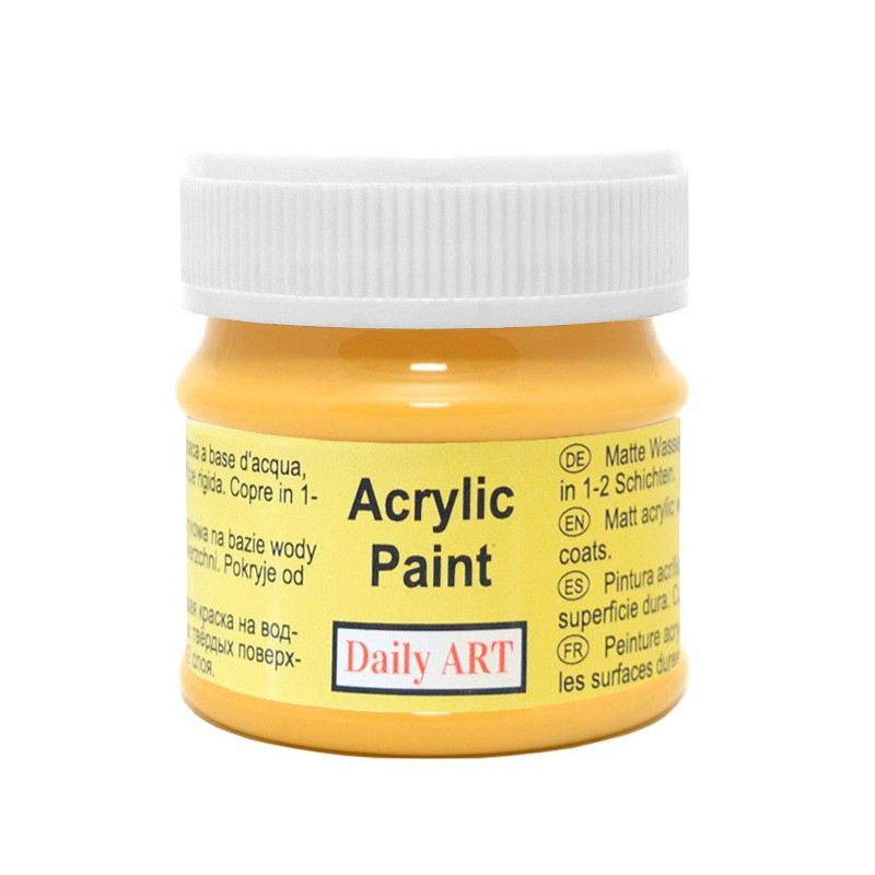 Matiniai akriliniai dažai Šafranas(50 ml)