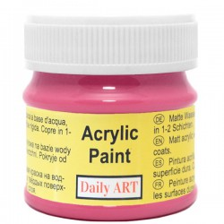 Acrylic paints Dark pink (50 ml)