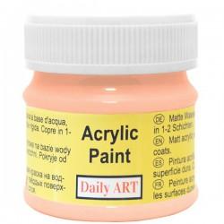 Matiniai akriliniai dažai Abrikosų (50 ml)
