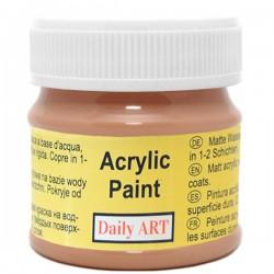 Matiniai akriliniai dažai ruda (50 ml)