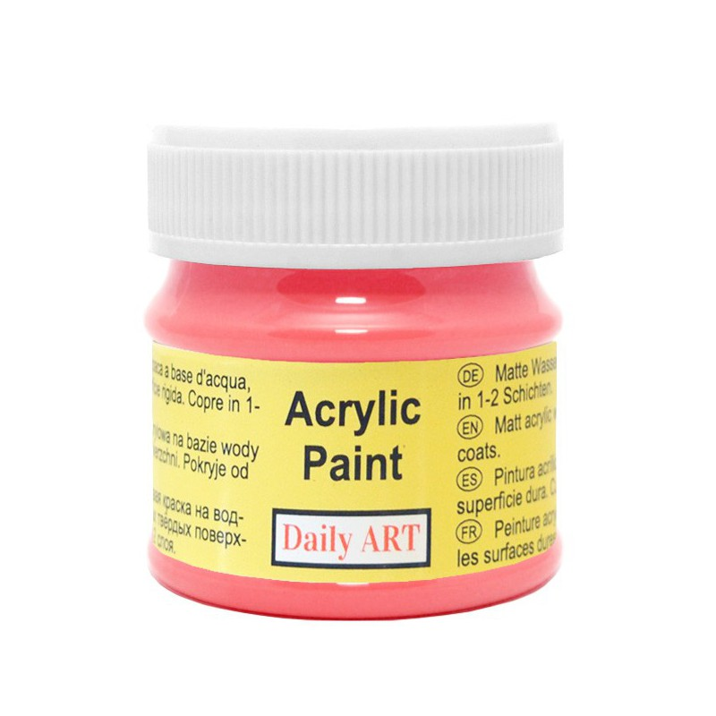 Matiniai akriliniai dažai Amarantas (50 ml)