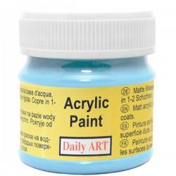 Matiniai akriliniai dažai Žydra (50 ml)