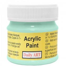 Matiniai akriliniai dažai Mėtos (50 ml)