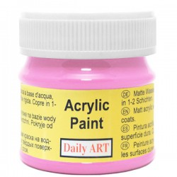 Matiniai akriliniai dažai Fuksija (50 ml)