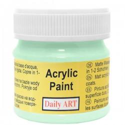 Matiniai akriliniai dažai Žalsva (50 ml)