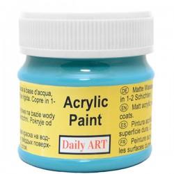 Matiniai akriliniai dažai Mėlyna turkio (50 ml)
