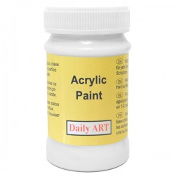 Acrylic paints White (100 ml)