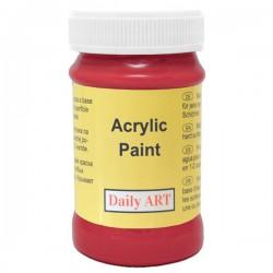 Matiniai akriliniai dažai Raudona (100 ml)