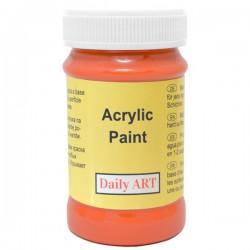 Acrylic paints Orange (100 ml)