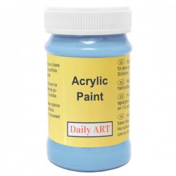 Acrylic paints Bright blue (100 ml)