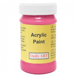 Acrylic paints Dark pink (100 ml)