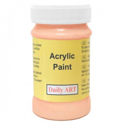 Acrylic paints Apricot (100 ml)
