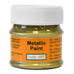 Metalic paints Gold (50 ml)