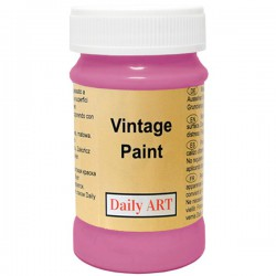 Chalky Acrylic paints Dark pink (100 ml)