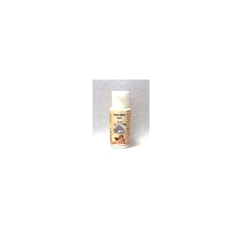 Dažai šilkui Balta (30 ml)