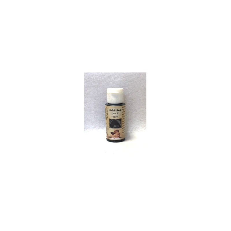 Dažai šilkui Juodi (30 ml)