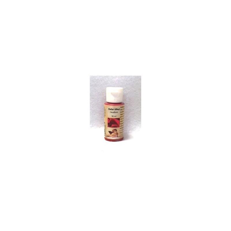 Dažai šilkui Raudoni (30 ml)
