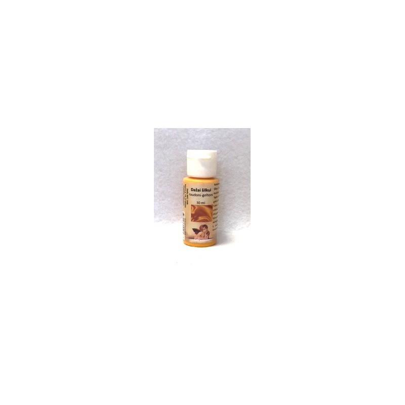 Dažai šilkui Raudonai geltoni (30 ml)
