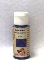 Silk paint Dark blue (30 ml)