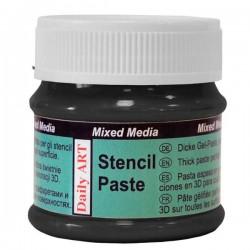 Stencil paste Black (50 ml)