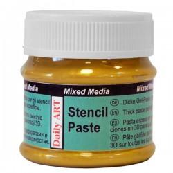 Stencil paste Gold (50 ml)