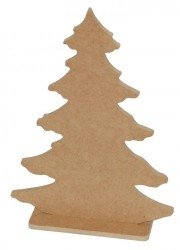 Christmas tree from MDF